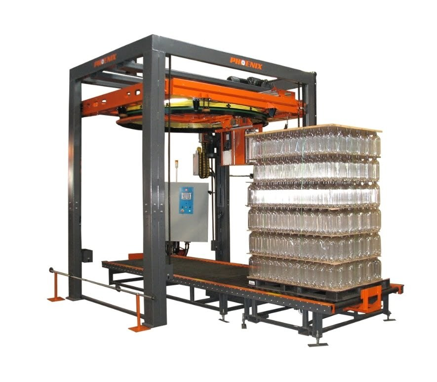 automated pallet wrapper