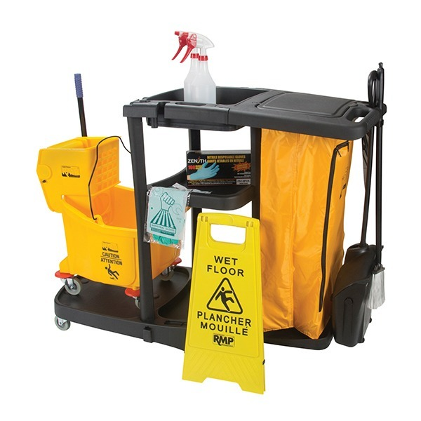 Janitorial Supplies Cart